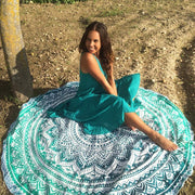 Beach Blanket & Cover Up One Size / Mint Mandala Beach Blanket trendpicky