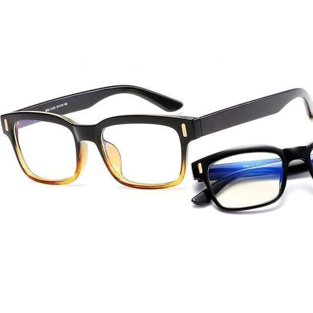 Blue Light Blocking Glasses Black and Brown Frame Blue Light Blocking Glasses trendpicky