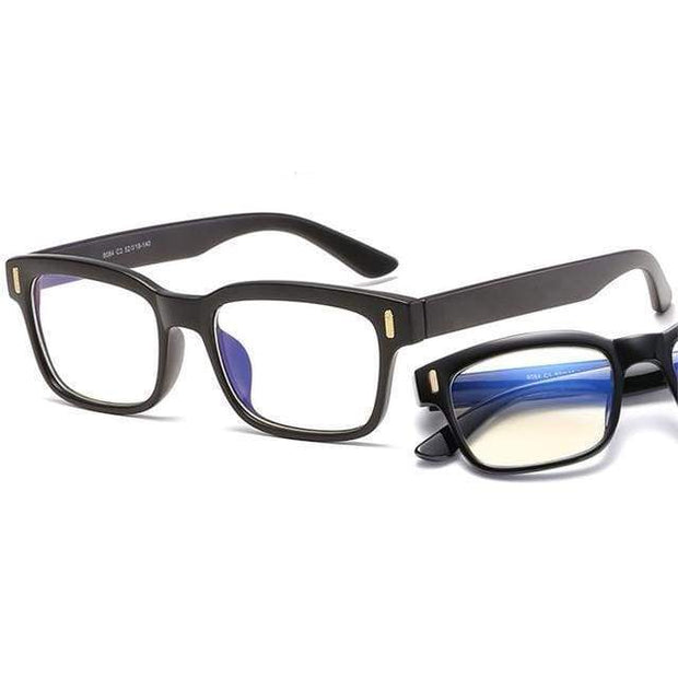 Blue Light Blocking Glasses Black Frame Blue Light Blocking Glasses trendpicky