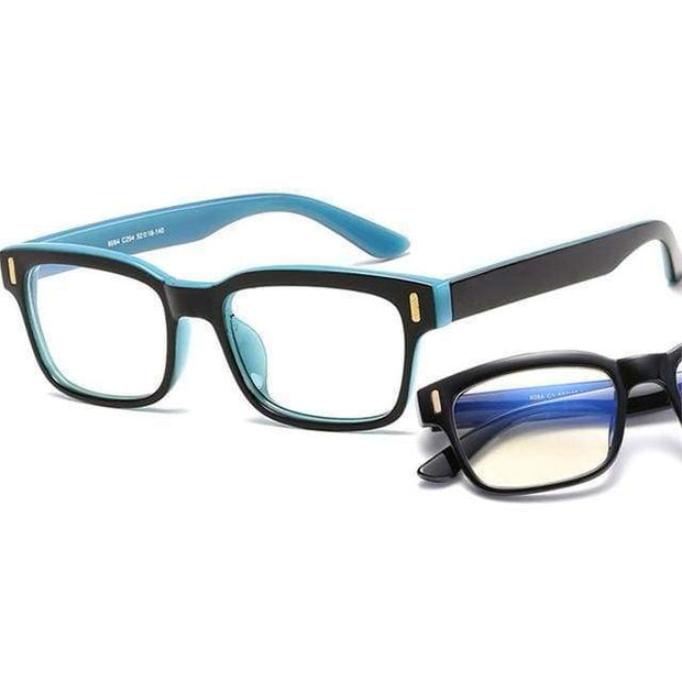 Blue Light Blocking Glasses Blue Frame Blue Light Blocking Glasses trendpicky