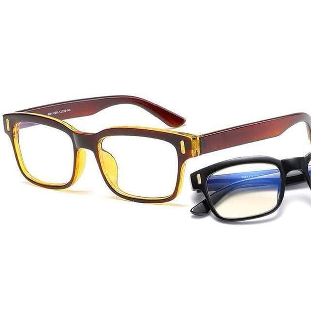 Blue Light Blocking Glasses Brown Frame Blue Light Blocking Glasses trendpicky