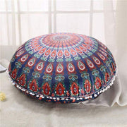 Boho Floor Pillow Cover Green Cushions trendpicky