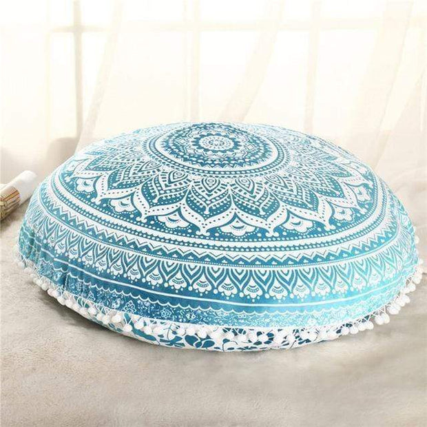 Boho Floor Pillow Cover Mint Cushions trendpicky