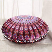 Boho Floor Pillow Cover Purple Cushions trendpicky