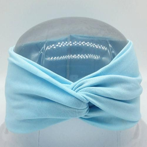 Boho Twist Headbands Baby Blue Boho Twist Headband trendpicky