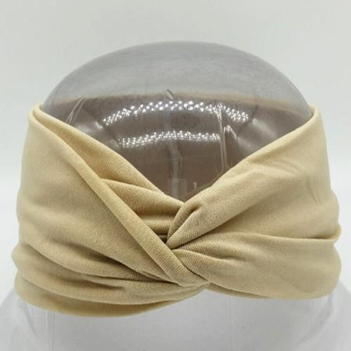 Boho Twist Headbands Beige Boho Twist Headband trendpicky