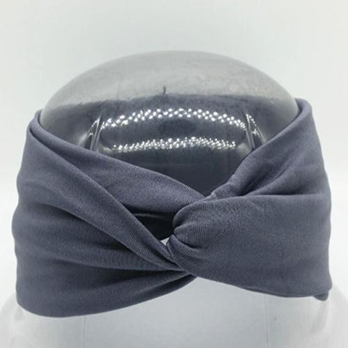 Boho Twist Headbands Gray Boho Twist Headband trendpicky