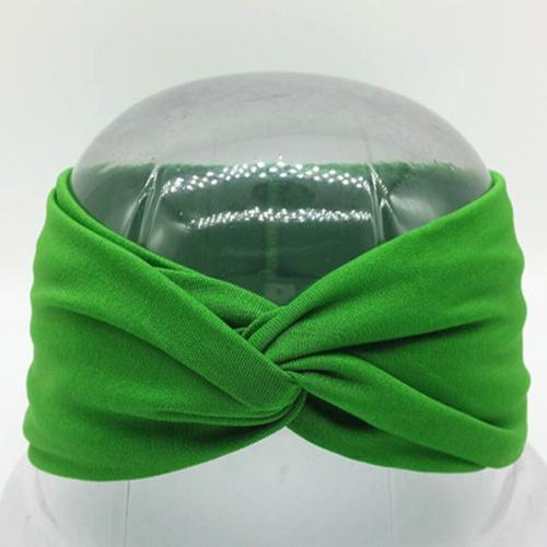 Boho Twist Headbands Green Boho Twist Headband trendpicky