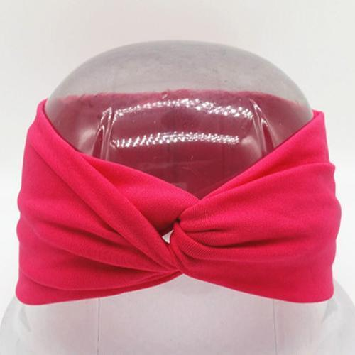 Boho Twist Headbands Hot Pink Boho Twist Headband trendpicky