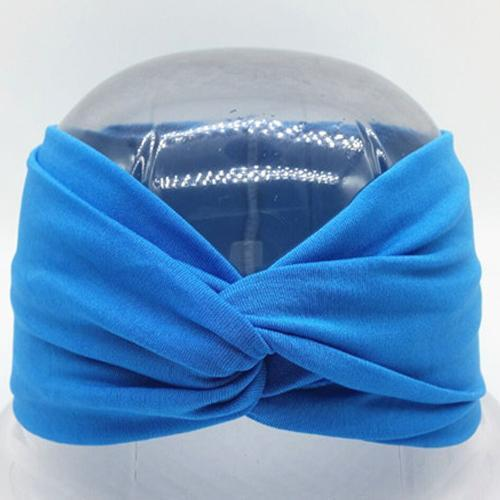 Boho Twist Headbands Lake Blue Boho Twist Headband trendpicky