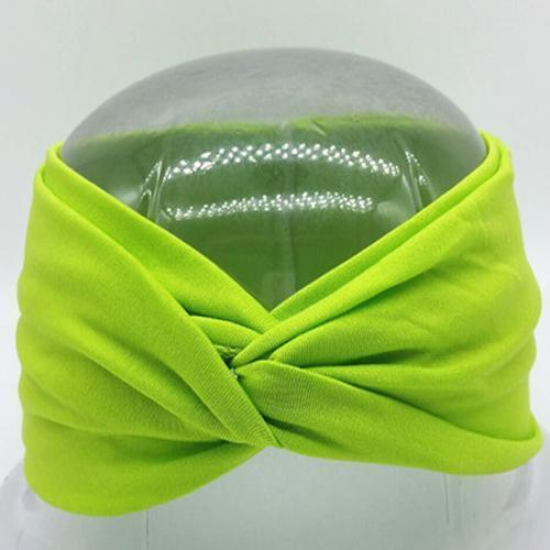 Boho Twist Headbands Lime Green Boho Twist Headband trendpicky
