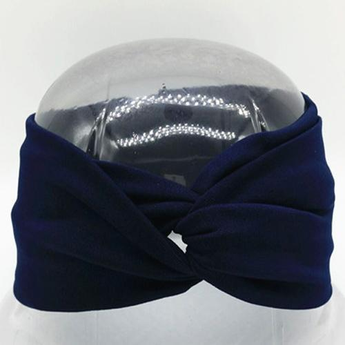 Boho Twist Headbands Navy Boho Twist Headband trendpicky
