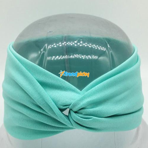 Boho Twist Headbands Teal Boho Twist Headband trendpicky