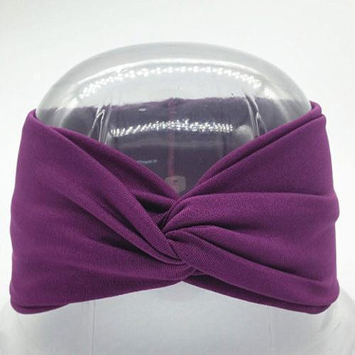Boho Twist Headbands Violet Boho Twist Headband trendpicky