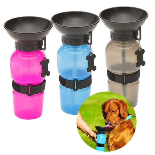 BottleDoggy Portable Drinking Water Bottle Pink Pets trendpicky