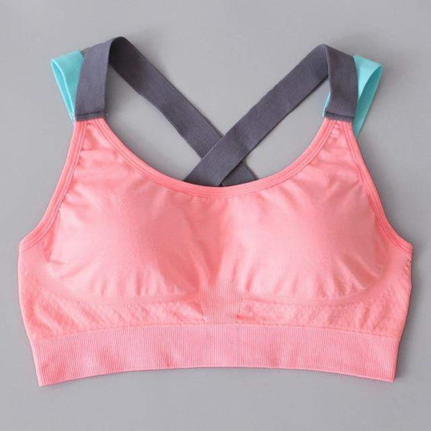 Comfortable Breathable Sports Bra Pink / XL Sports Bra trendpicky