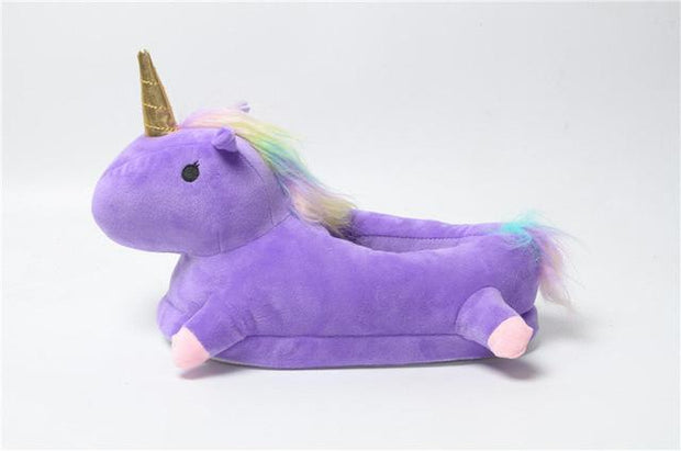 Comfy Magical Unicorn Slippers Unicorn Slippers trendpicky