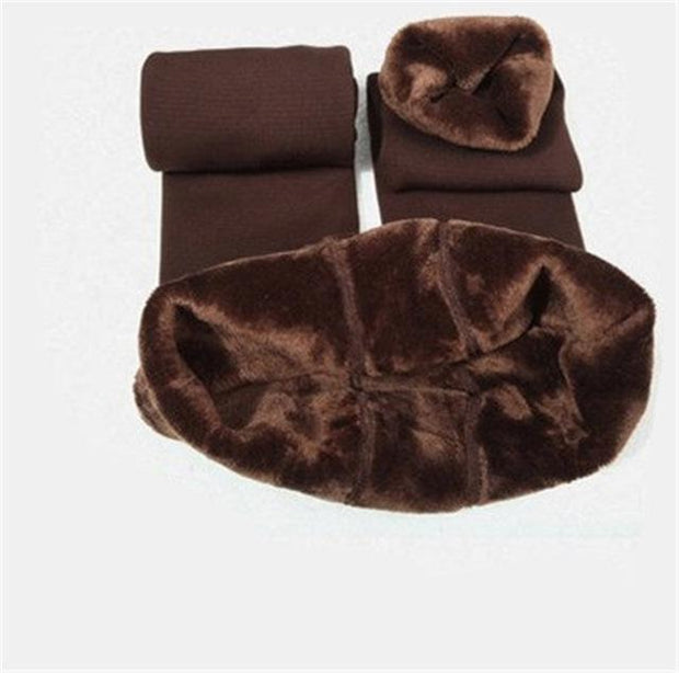 Cozy Faux Fur Leggings S / Brown Cozy Fur Leggings trendpicky