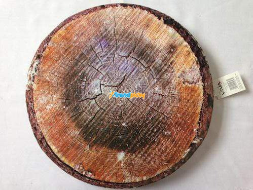 Cushioned Tree Bark Pillow Cushions trendpicky
