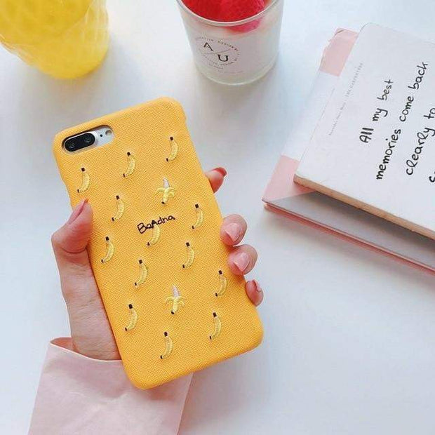 Cute Fruit iPhone Cases Banana / For 6 plus 6s plus iPhone Cases trendpicky
