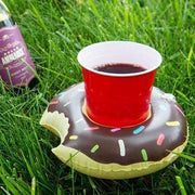 Cute Pool/Beach Cup Holders Chocolate Donut Cup Holders trendpicky
