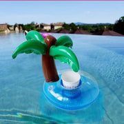 Cute Pool/Beach Cup Holders Coconut Tree Cup Holders trendpicky