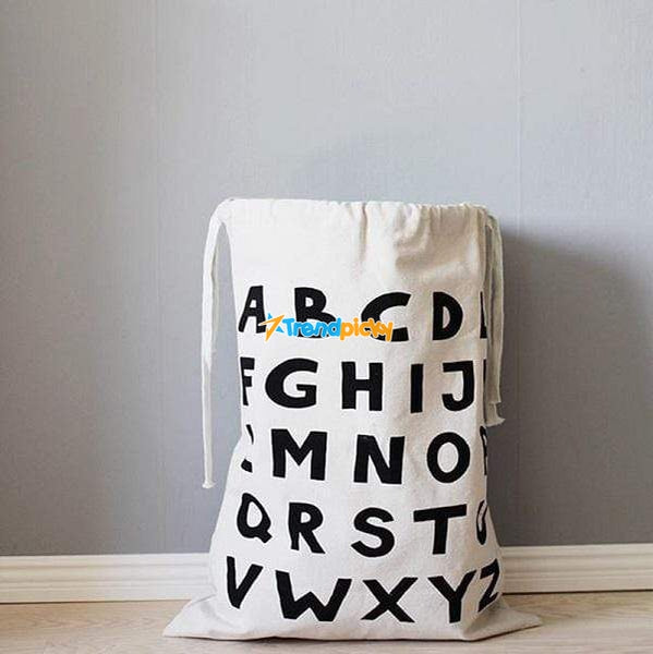 Cute Storage & Laundry Bags ABC Cute Storage & Laundry Bag trendpicky