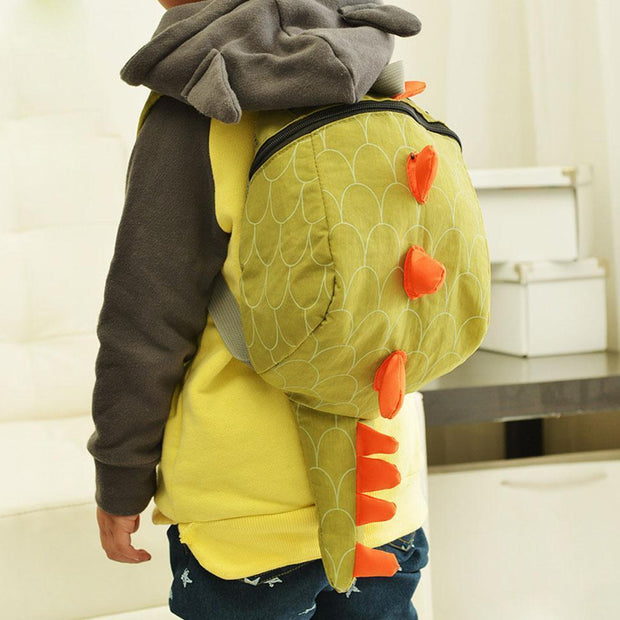 Dino Kids Backpack Green Backpack trendpicky