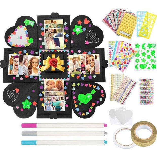 DIY Love Explosion Gift Box trendpicky