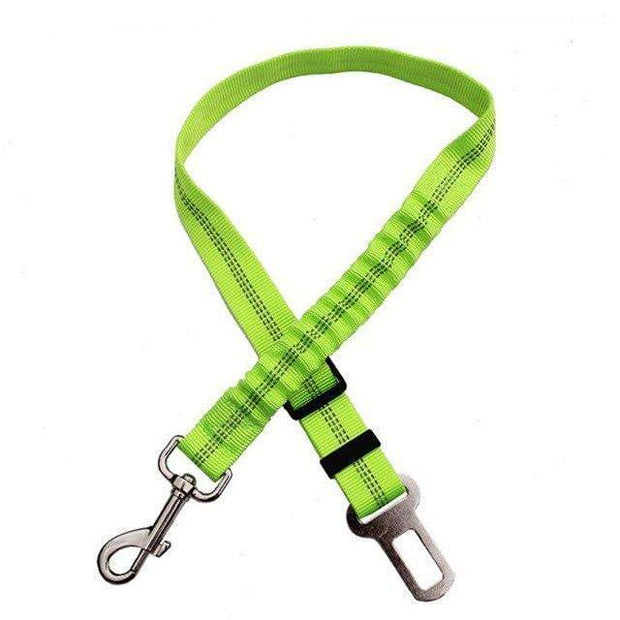 Dog's Safety Seat Belt Green Dog's Safety Seat Belt trendpicky