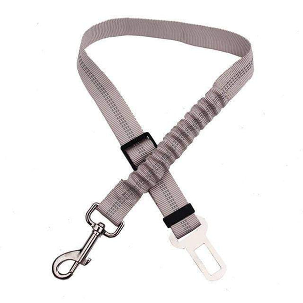 Dog's Safety Seat Belt Light Grey Dog's Safety Seat Belt trendpicky