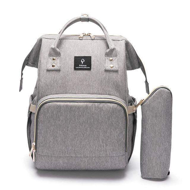 Durable Large-Capacity Diaper Bag grey Diaper Bag trendpicky