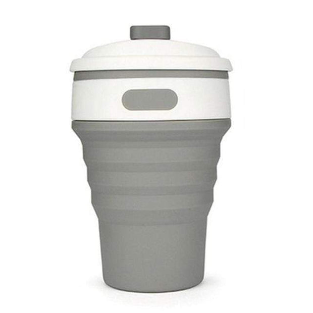 Eco Collapsible Cup Gray Eco Collapsible Cup trendpicky