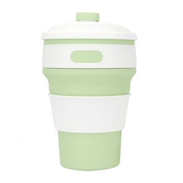 Eco Collapsible Cup Matcha Green Eco Collapsible Cup trendpicky