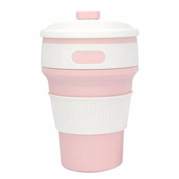 Eco Collapsible Cup Pink Eco Collapsible Cup trendpicky