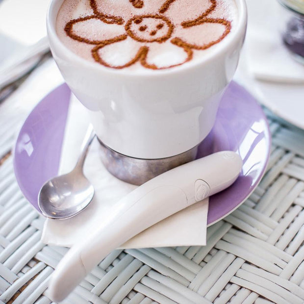 Electric Spice Pen For Latte & Food Art Electric Spice Pen For Latte & Food Art trendpicky