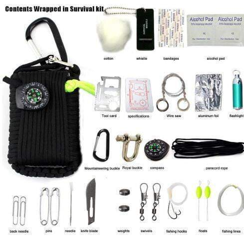 Emergency Survival Tool Kit (29 in 1) Survival Tool Kit trendpicky