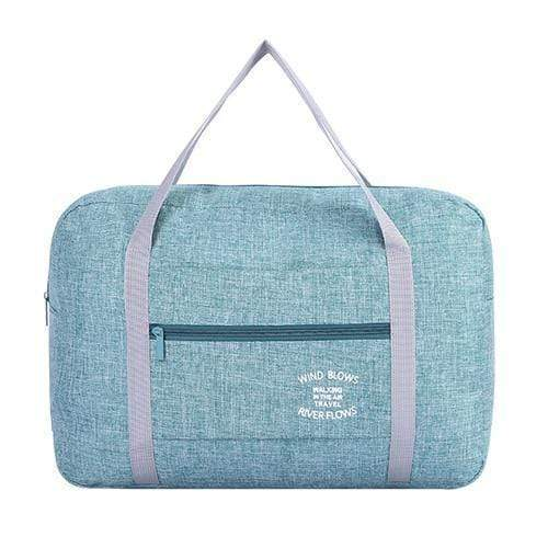 Foldable Weekender Bag Green Foldable Weekender Bag trendpicky