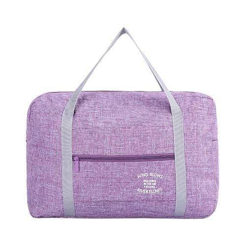 Foldable Weekender Bag Purple Foldable Weekender Bag trendpicky