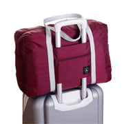 Foldable Weekender Bag Wine Foldable Weekender Bag trendpicky