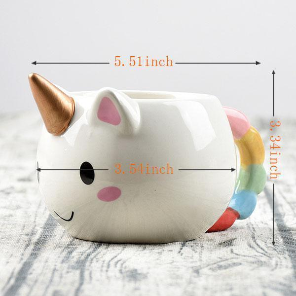 Gold Unicorn Mug White/Gold Gold Unicorn Mug trendpicky