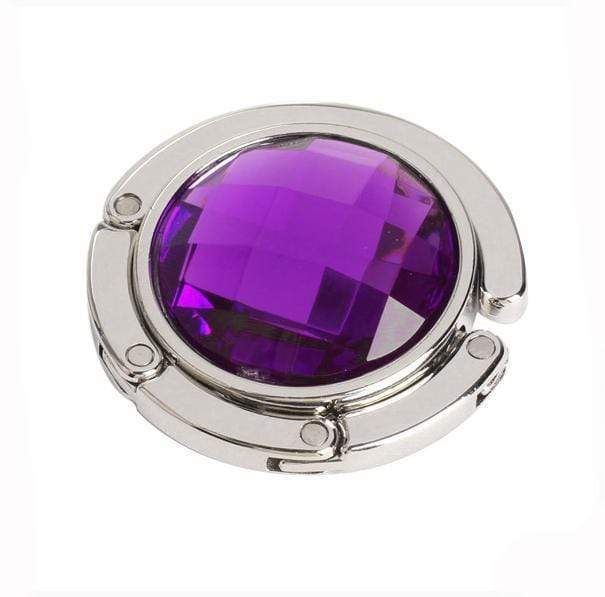 Handbag Holder Charm Amethyst Handbag Holder Charm trendpicky