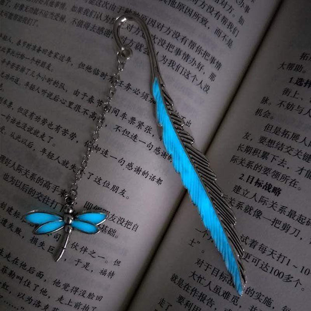 Handmade Glowing Bookmark Lullaby Silver Handmade Glowing Bookmark trendpicky