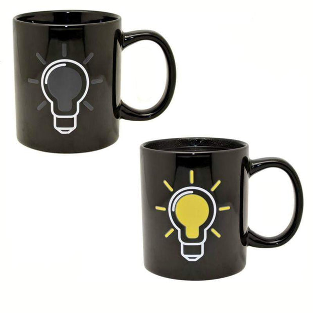 Heat Sensitive Colour Changing Light Bulb Mug Coffee Mug trendpicky