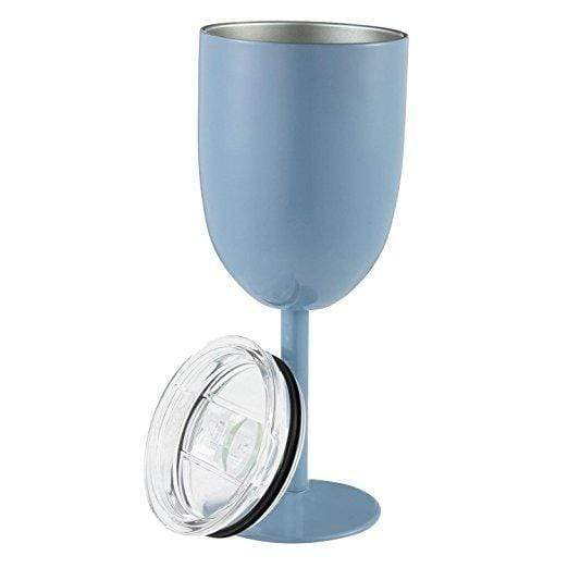 Insulated Wine Cups Blue DrinkUp Insulated Wine Cups trendpicky