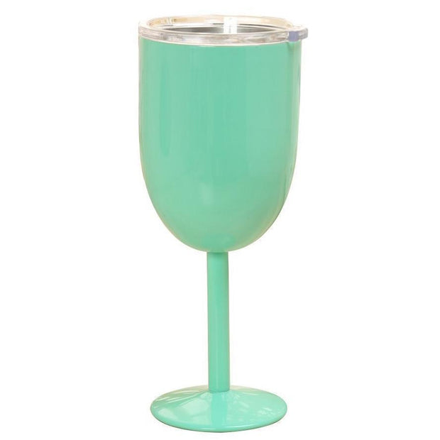 Insulated Wine Cups Mint DrinkUp Insulated Wine Cups trendpicky