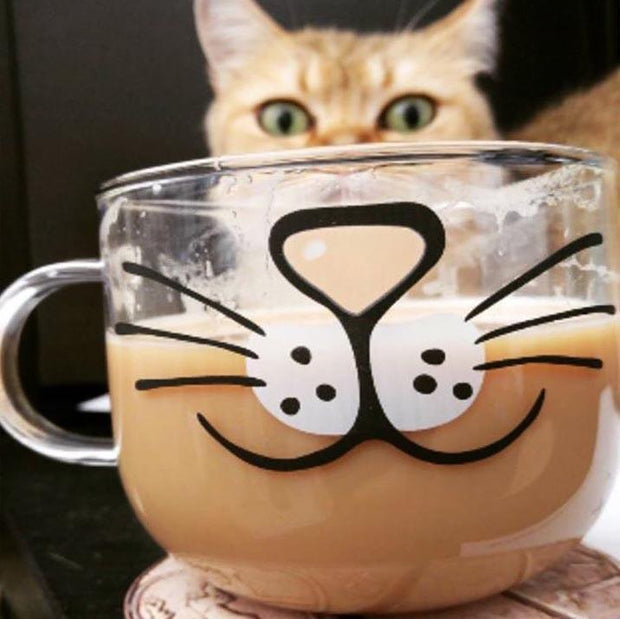 Kitty Coffee Mug Coffee mug trendpicky