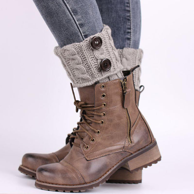 Knit Boot Toppers Clothes trendpicky