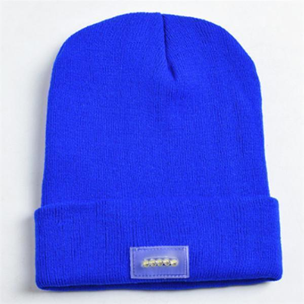 Knit Tactical Beanie Hat (Unisex) Blue Knit Tactical Beanie Hat trendpicky