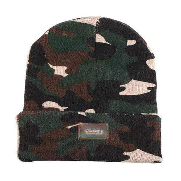 Knit Tactical Beanie Hat (Unisex) Camo Knit Tactical Beanie Hat trendpicky